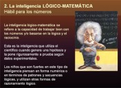 Teoría de las Inteligencias Múltiples