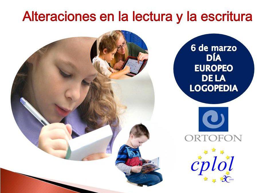Alteraciones en la lectura y la escritura, tema central del Día Europeo de la Logopedia 2020