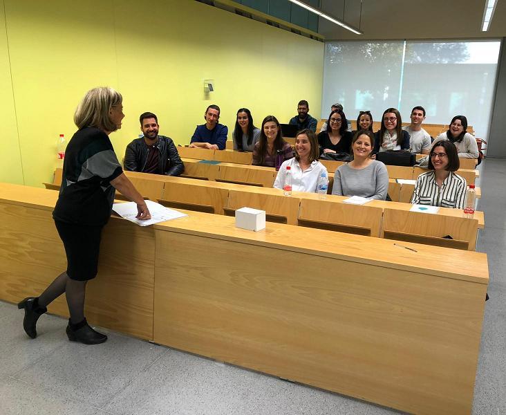 'Cómo hablar en público', curso impartido a los alumnos de la Cátedra DAM de la Universidad de Valencia