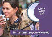 """Ortofón se adhiere al lema de la jornada del 8 de marzo: """"Sin nosotras, se para el mundo"""""""