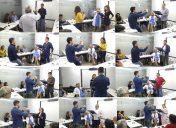 Pruebas de locución en el curso de Ortofón para profesionales de los medios de comunicación
