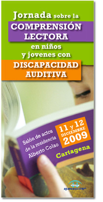 Jornada sobre la comprensión lectora en niños y jóvenes con discapacidad auditiva