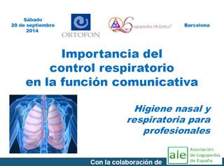 Curso de control respiratorio durante la comunicación