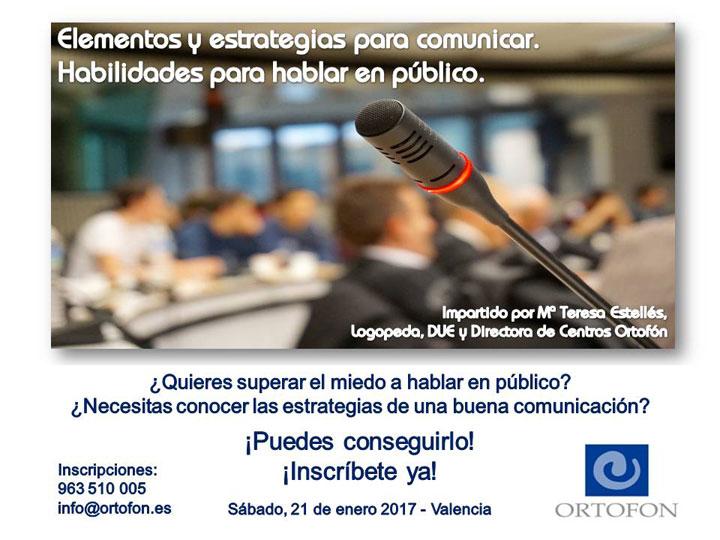 Elementos y estrategias para comunicar - habilidades para hablar en público