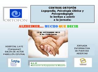 Jornada informativa sobre el Alzheimer