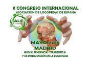 X Congreso Internacional de la Asociación de Logopedas de España