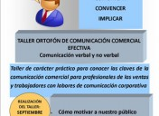 Taller de comunicación comercial efectiva