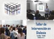Taller de intervención en dislexia en Valencia